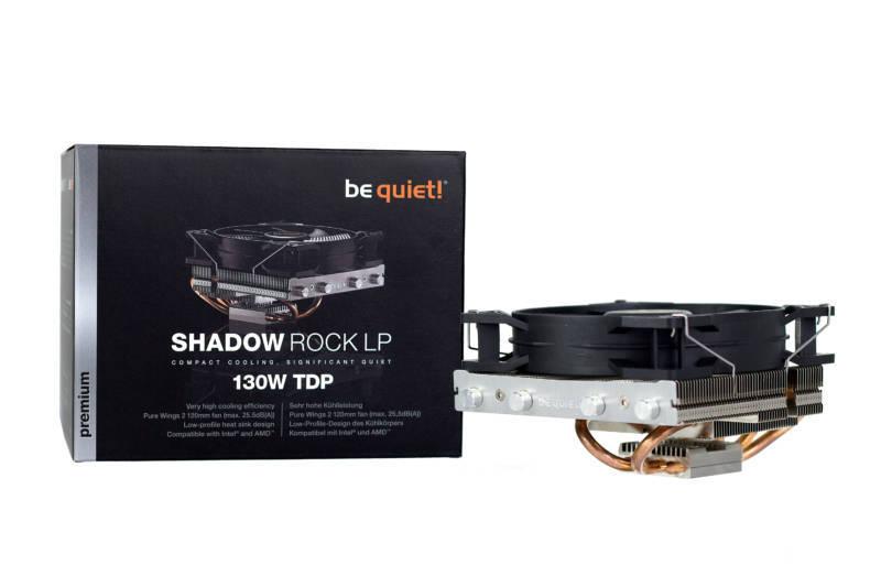 Une petite merveille qui permet d'apporter la qualité be quiet! dans les boîtiers les plus compacts, à un prix très raisonnable Be Quiet Shadow Rock LP130 46,90€TTC